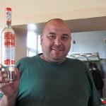 Riktiga män dricker vodka till lunchen! Samarkand