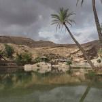 Oasen Wadi Bani Khalid