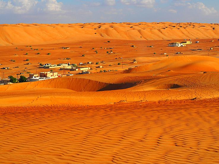 Mäktiga öknar. Oman