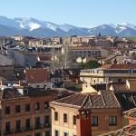 Vy över Segovia