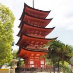 Femvåningspagoden. Ön Miyajima (U)