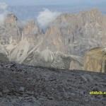 Vy över Sellamassivet, 2 900 möh (U)