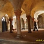 Kryptan. St Servatii kirche. Quedlinburg