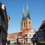 St Nicolaikirche. Quedlinburg