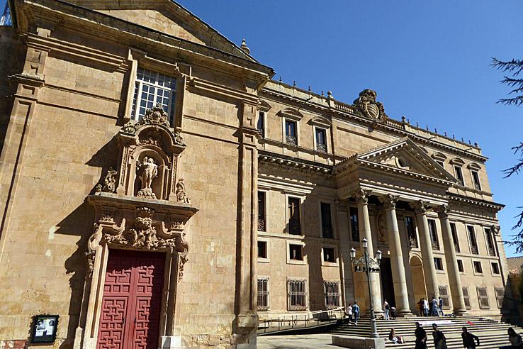 Iglesia San Sebastian och Palacio Anaya. Salamanca (U)