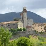 Gammalt slott. Toscana