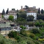 Vy över Montecatini Alto