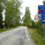 Cykla Dalslandsleden. Halden. Norge