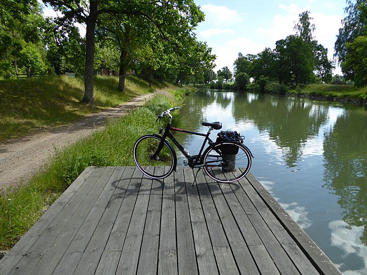Göta kanal. Östergötland. Motala - Mem, Tur och Retur