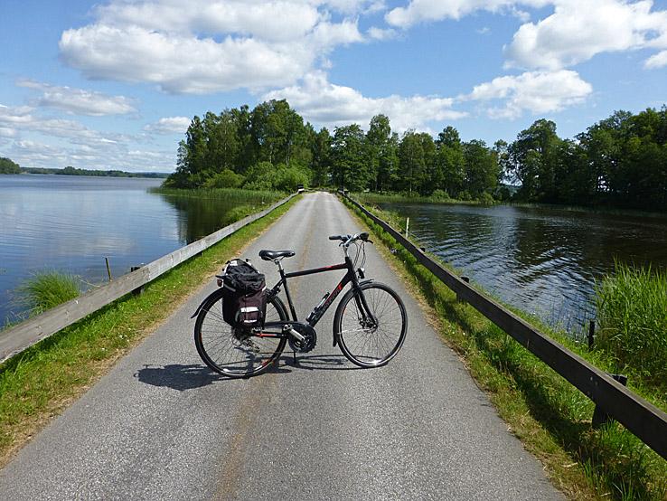 Cykla Sjuhäradsrundan. Borås - Ulricehamn