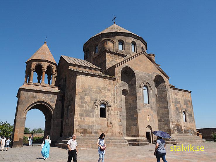 Kyrkan St Hripsime. Etchmiadzin. Armenien (U)
