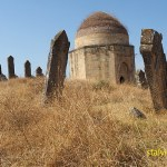 Begravningsplats. Yeddi Gumbez