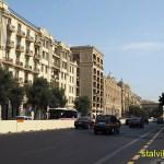Stadsmiljö. Baku