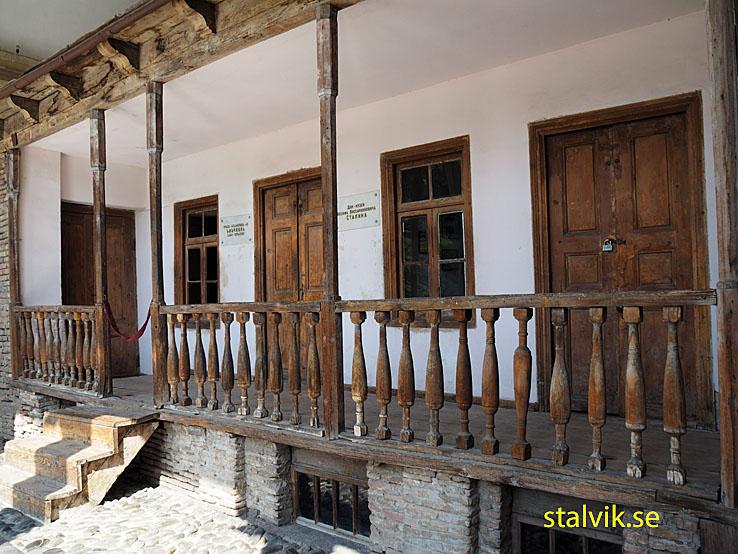Josef Stalins hus. Gori