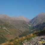 Vy över Kaukasus. Gudauri