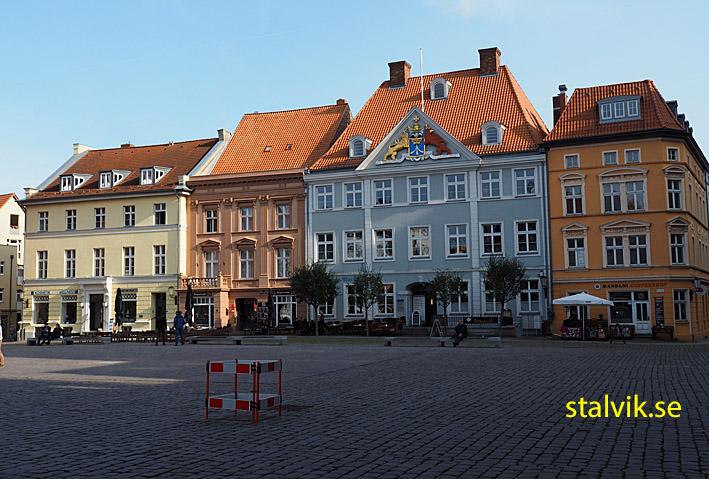 Rådhusplatsen. Stralsund