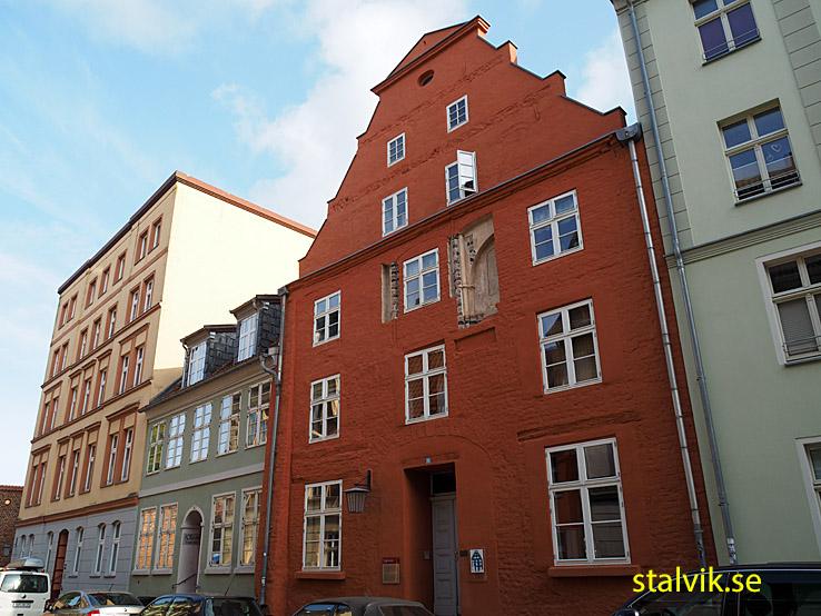 Gavelhuset på Külpstrasse 5. Stralsund (U)
