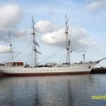 Segelfartyget Georg Foch. Stralsund