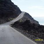 Vägen mot Salinas de Fuencaliente