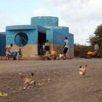 Vattenstation. Espargos
