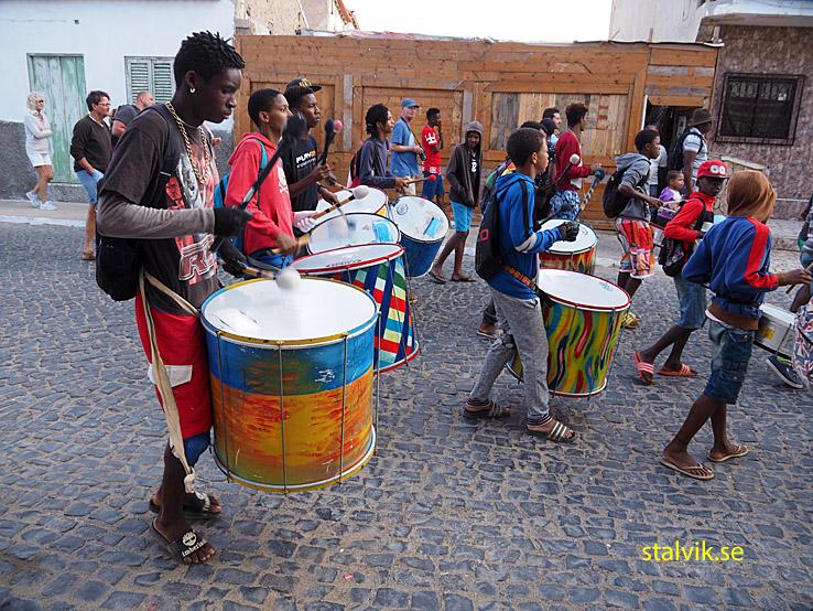 Uppstart av karneval. Santa Maria