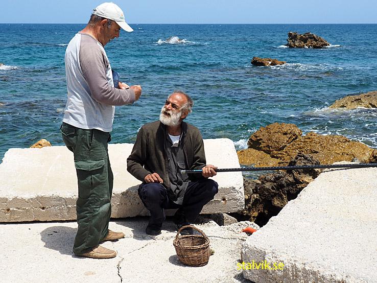 Två fiskare. Kalamaki