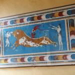 Fresk i Piano Nobile. Knossos