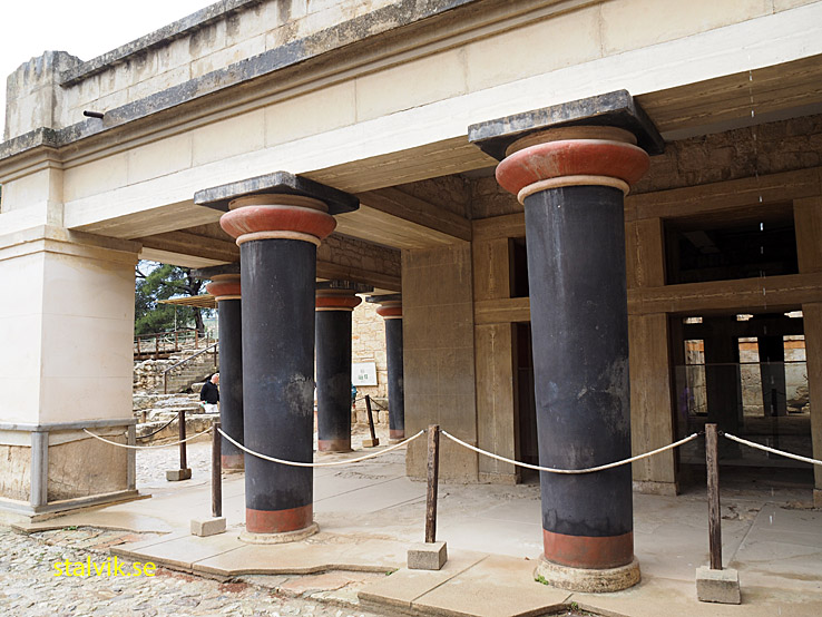 Kungliga bostäderna. Knossos