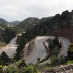 Vägen mot Omalos