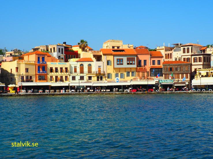 Venetianska hamnen. Chania