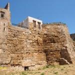 Den bysantinska stadsmuren. Chania
