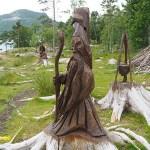 Skulpturparken. Jörpeland