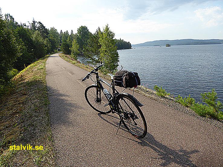 Cykla i Ludvika kommun. Väsman runt