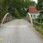 Cykling Väsman runt. Kaplanbron. Grangärde