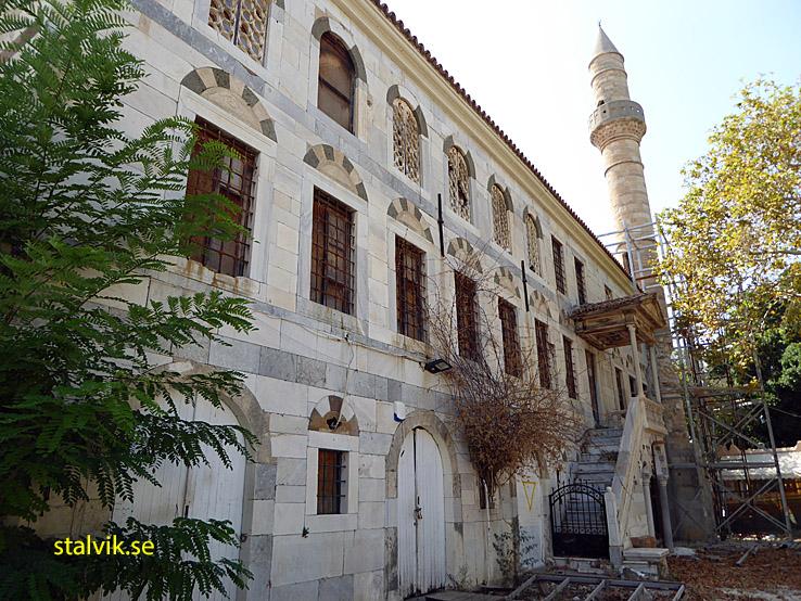 Loggia moskén. Kos stad