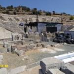 Romerska teatern. Bodrum