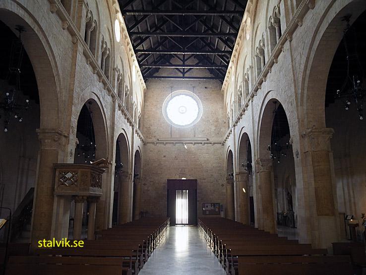 Katedralen Basilica Minore Santa Maria Assunta. Conversano