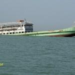 Skeppsvrak på vägen till Kunta Kinte Island