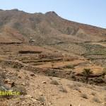 Biltur. Landskap söder om Betancuria