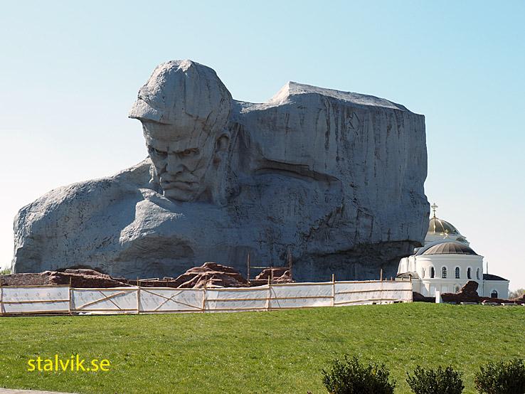 """Monumentet """"Modet"""". Fästningen. Brest"""