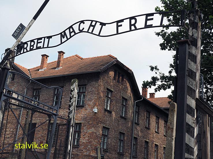 Koncentrationslägret Auschwitz. Polen (U)