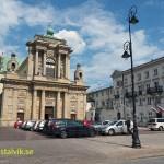 Karmeliterkyrkan. Warszawa. Polen (U)