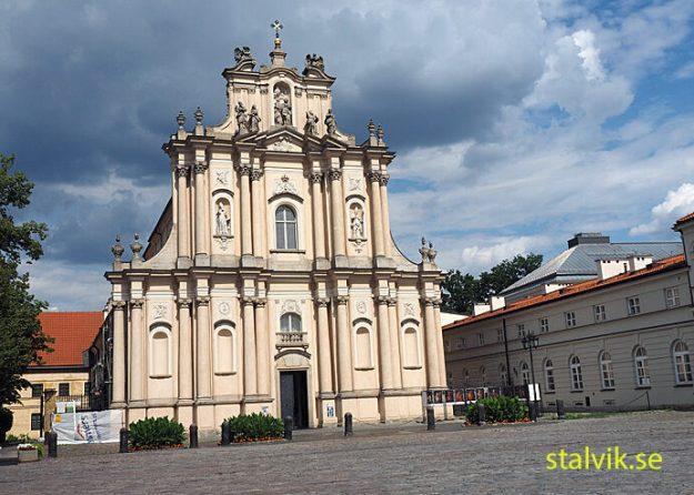 Visitationistkyrkan. Warszawa