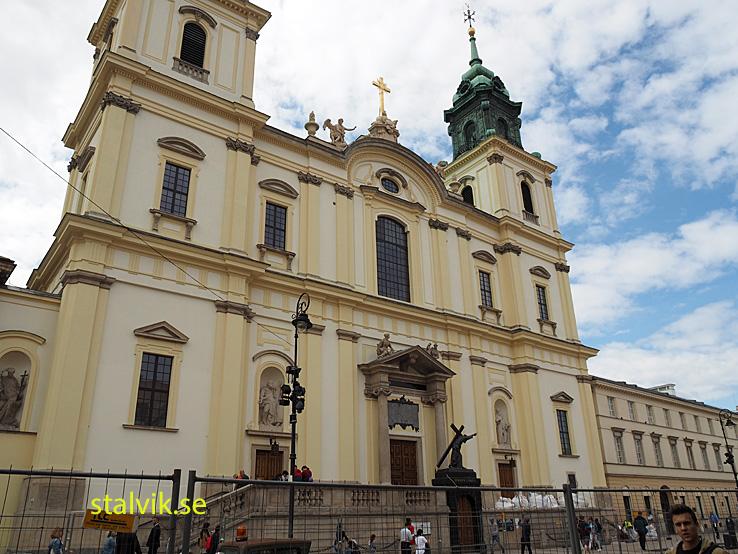 Heliga Korsets kyrka, Warszawa