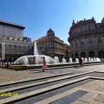 Piazza de Ferrari. Genua (U)