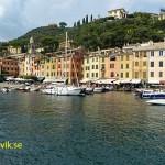 Hamnen. Portofino
