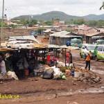 Fattig landsbygd. Kenya
