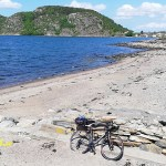 Cykla i Bohuslän. Rörtången