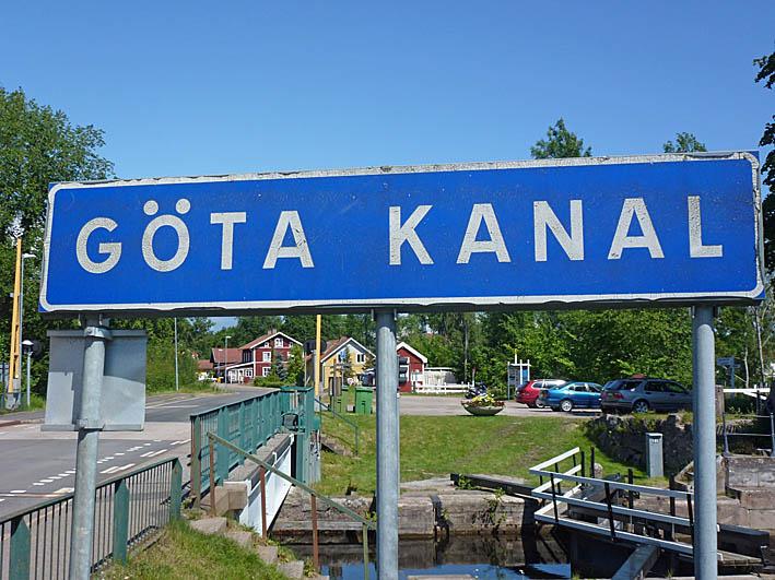 Cykla Göta kanal. Västergötland. Starten i Stenstorp