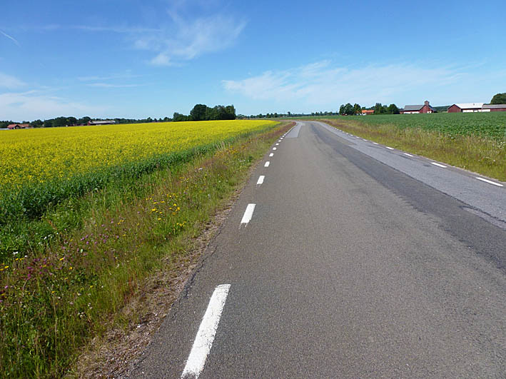 Cykla Göta kanal. Västergötland